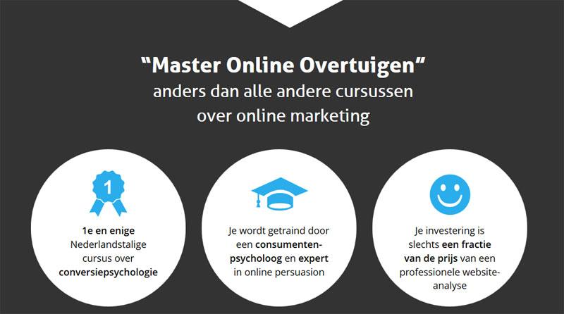 USP's master online overtuigen